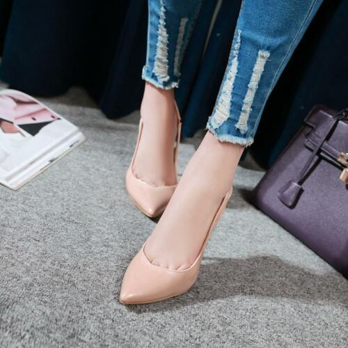 Stiletto Pumps High Heels Sandalen Spitz Klassisch Damen Schuhe Gr.34-43 Top