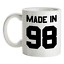 Made-in-039-98-Mug-21st-Compleanno-1998-Regalo-Regalo-21-Te-Caffe miniatura 1