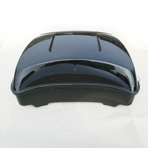 Chopped Trunk W// Backrest For Harley Tour Pak Touring Road King Glide 2014-2019