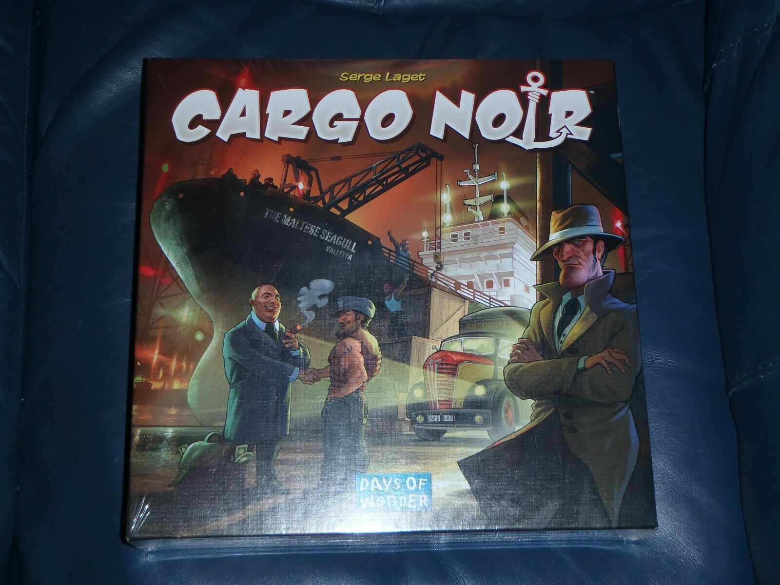 Days of Wonder Cargo Noir Jeu De Plateau  Neuf + Scellé