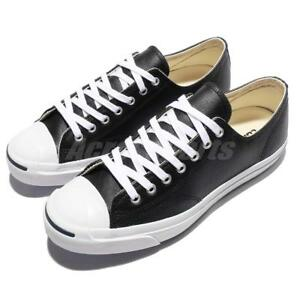 36119a8de91f Converse Jack Purcell Leather OX Black JP Men Women Casual Shoes ...