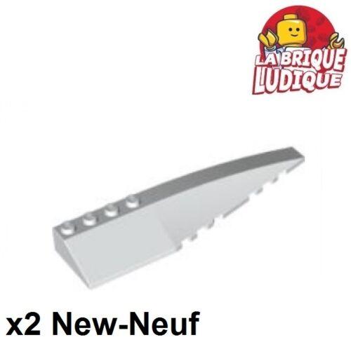 Lego 2x Wedge 12x3 right droit droite aile blanc//white 42060 NEUF