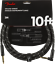Fender-Deluxe-BLACK-TWEED-Guitar-Instrument-Cable-Straight-Right-Angle-10-039-ft thumbnail 1