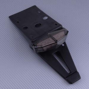 LED-Ruecklicht-Kennzeichenhalter-Motorrad-Kotfluegel-Hinten-Fender-Bremslicht