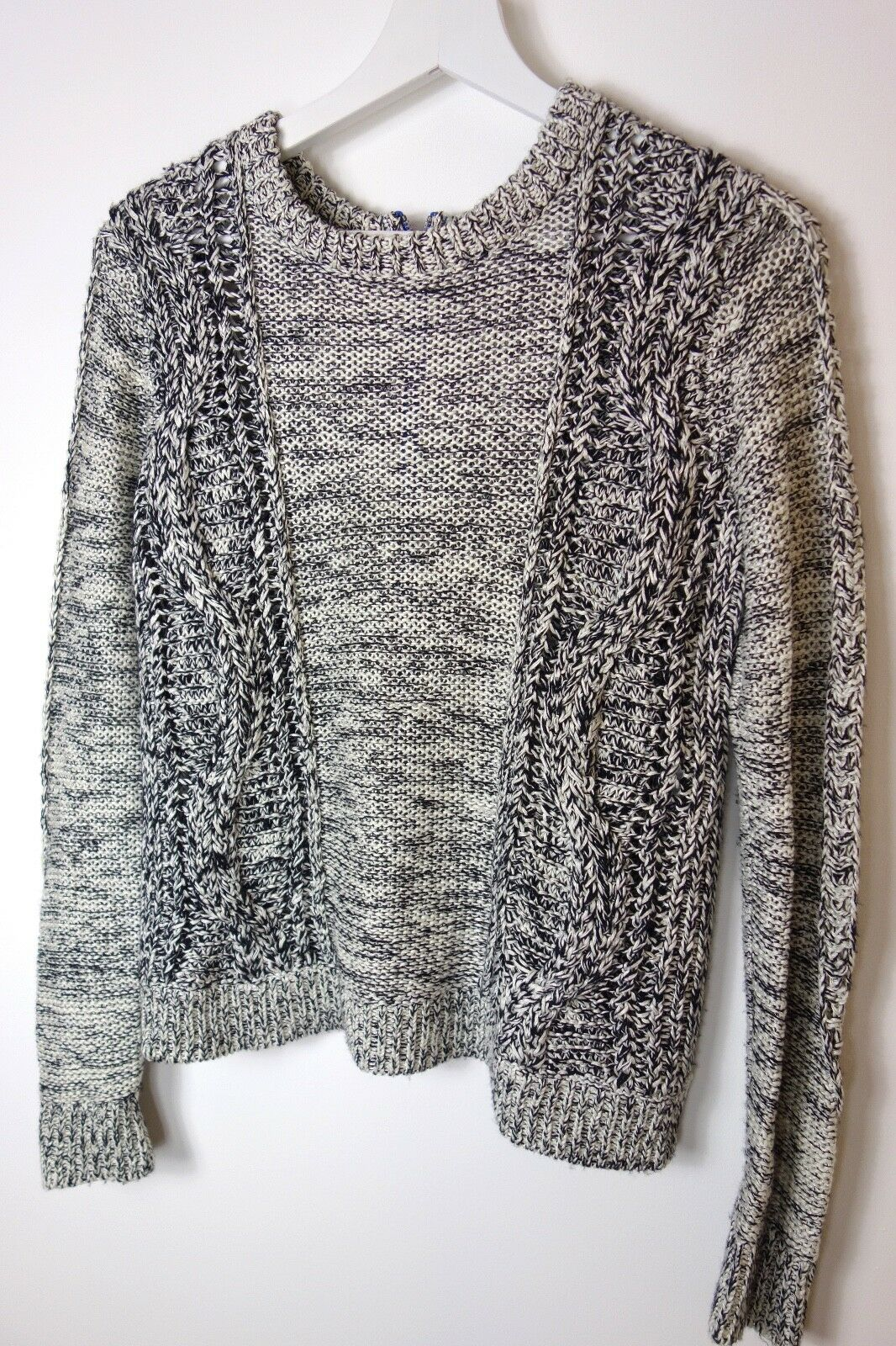 Diane von Furstenberg Furstenberg Furstenberg Ettie Cable-Knit Sweater, DVF size S c4f61f