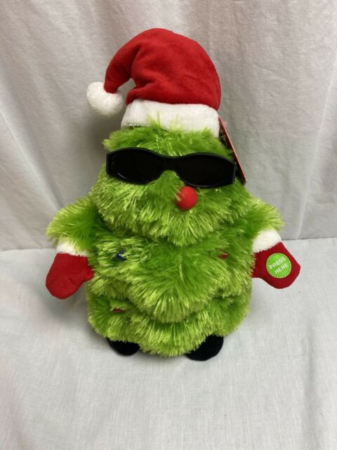 BE JOLLY ANIMATED CHRISTMAS TREE JINGLE BELLS NEW WITH TAGS LIGHTS UP   eBay