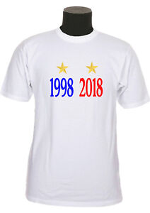 Tee-shirt-enfant-france-champion-foot-coupe-du-monde-1998-2018-ref-176