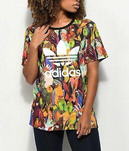 ADIDAS-ORIGINALS-Passaredo-xfarm-T-Shirt-BNWT-Taille-UK-4-6-8-10-12-5-dernier