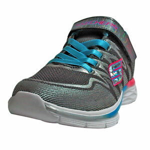 Skechers Cctq 81131l M Whimsy turquoiseskechers Girl Charcoal Mädchen Sneakers 6qwrFT6Z