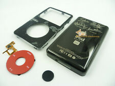Black Faceplate Housing U2 Back Case Cover Red Clickwheel fr iPod 5th Video 80GB
