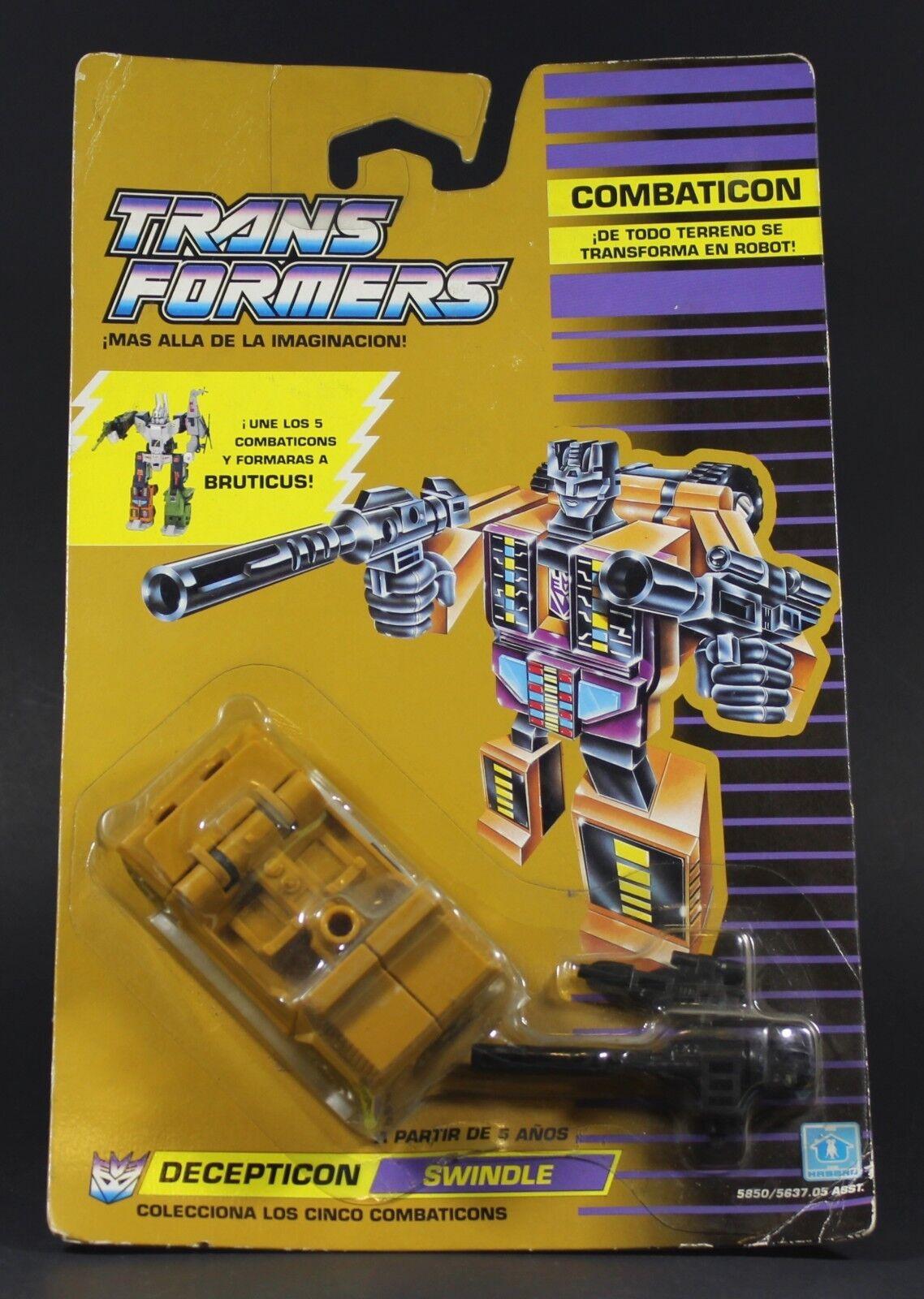 1986 Hasbro transformers G1 Combaticons escroquerie Jeep scellé  voiturete Comme neuf sur scellé voiturete Bruticus  la meilleure sélection de