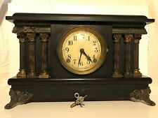 Antique SESSIONS Clock Co. 8 Day Mantle Clock