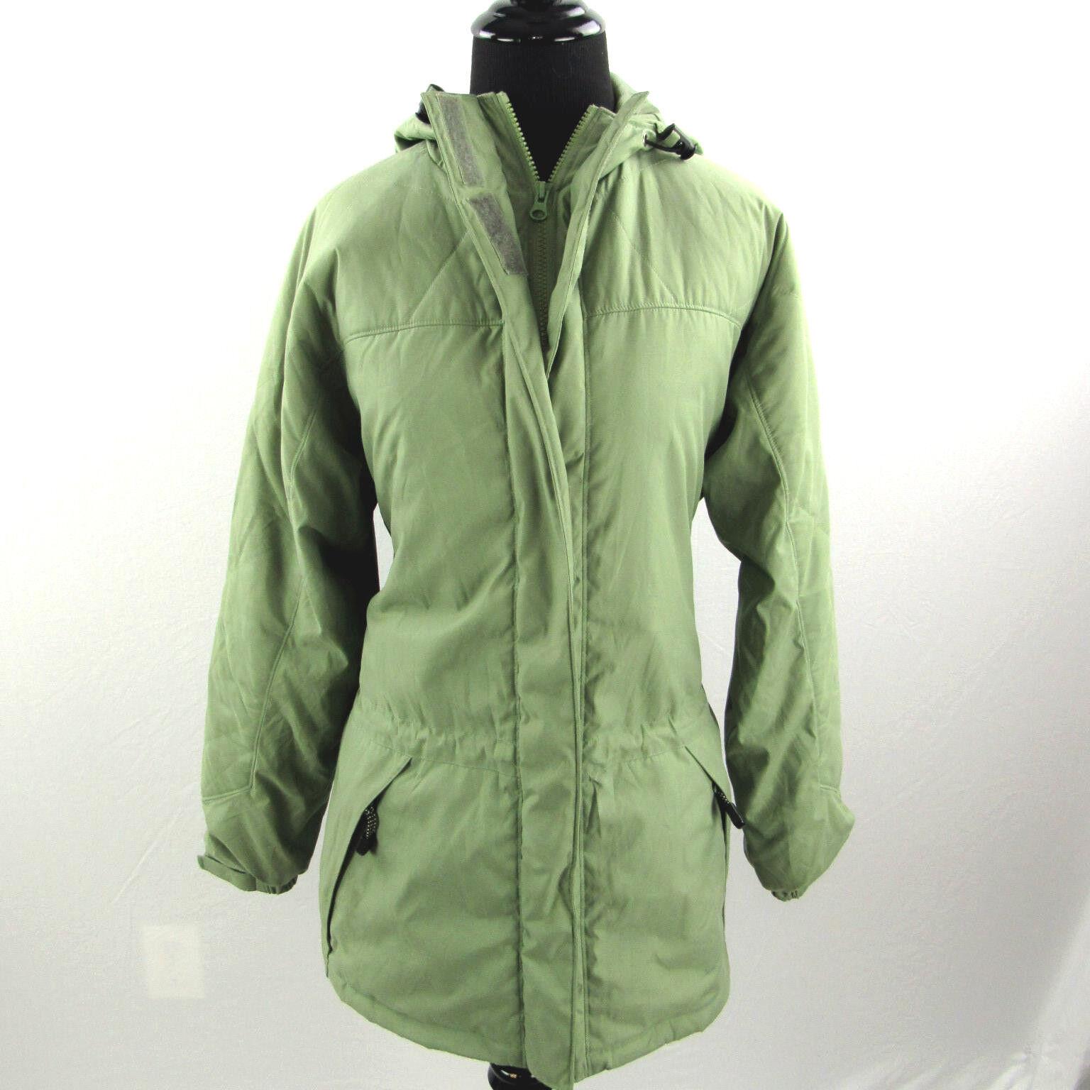 Woolrich Isolé Poly Jacket Corvée Extérieure Moyenne Vert Olive Femme