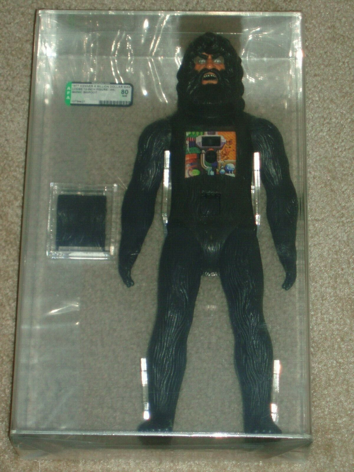 1977 autoridad Kenner Figura de Acción 80 Bionic Bigfoot 12 pulgadas figura de acción Six Million Dollar Man