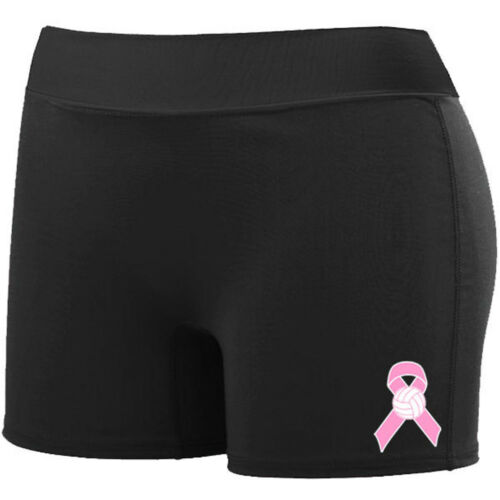 MD AU1222 Women/'s /'Volley Short-ruban rose-noir