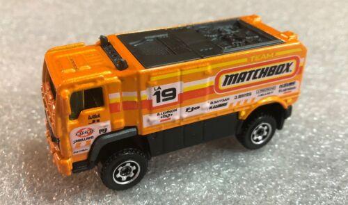 2019 Matchbox Service Squad Desert Thunder V16 Orange  Loose