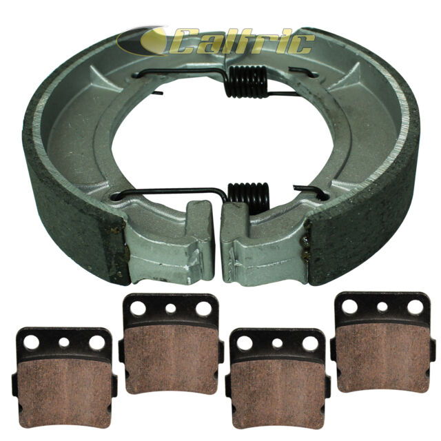 New Front Brake Pads /& Rear Shoes For YAMAHA Grizzly 600 YFM600 1998-2001