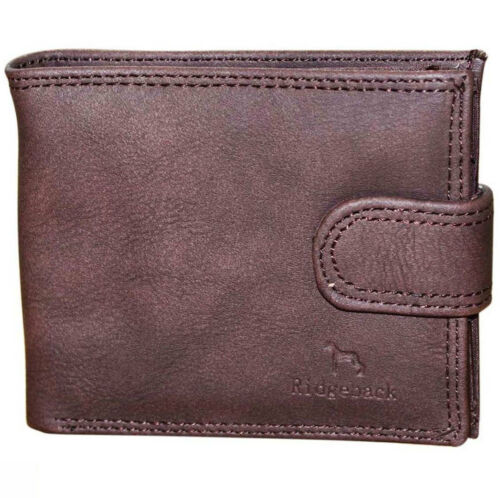 Extra ID Window Mens Elegant Soft Eco Leather Wallet Zip And Coin Pocket