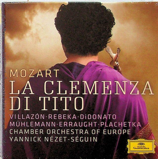 Mozart: La Clemenza Di Tito, Europe Chamber 2-CD (NEW) Yannick Nezet-Seguin