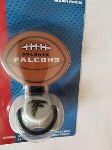 NFL-ATLANTA-FALCONS-Baby-Toddler-Pacifier-w-Clip-Julio-Jones-Matt-Ryan-NEW-NIP