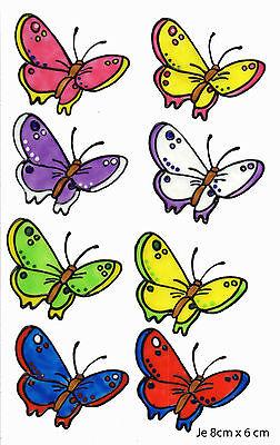 Window Color Bild Fensterbild Fensterfolie Schmetterlinge im Set 307