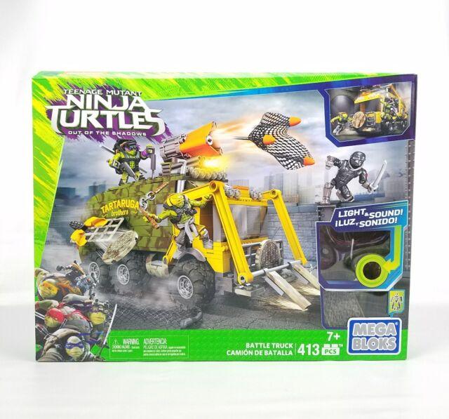 Mega Bloks Teenage Mutant Ninja Turtles 41 Out of the Shadows Battle Truck 413