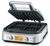 Waffle Maker Pro Non Stick Snack Breville Electrical Grill Plates 1 Bwm640