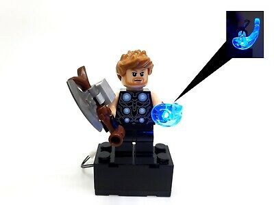 BlingBlingBrick Strange Minifigure with LED Light Up Eye of Agamotto Dr