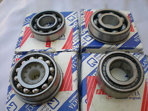 KIT-CUSCINETTI-PER-REVISIONE-CAMBIO-FIAT-500-126-ORIGINALE-INTROVABILE-970802