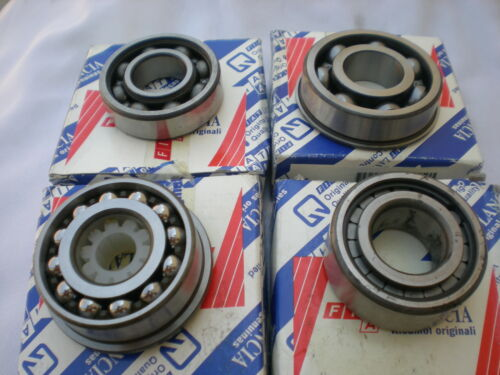 KIT CUSCINETTI PER REVISIONE CAMBIO FIAT 500 126 ORIGINALE INTROVABILE 970802