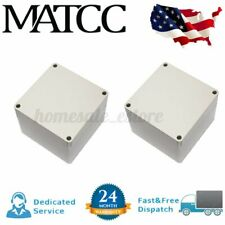 2x Abs Plastic Electronics Enclosure Project Box Hobby Case Screw