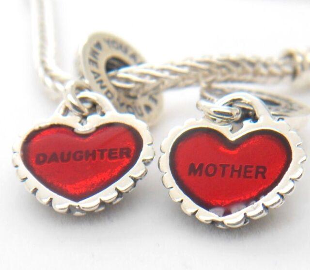 Authentic pandora mother daughter pendants piece of my heart charm authentic pandora mother daughter pendants piece of my heart charm 790950en27 aloadofball Images