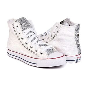 converse all star alte argento
