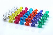 Set Of 100 Push Pin Magnets Super Strong Magnetic Push Pinperfect For Schools