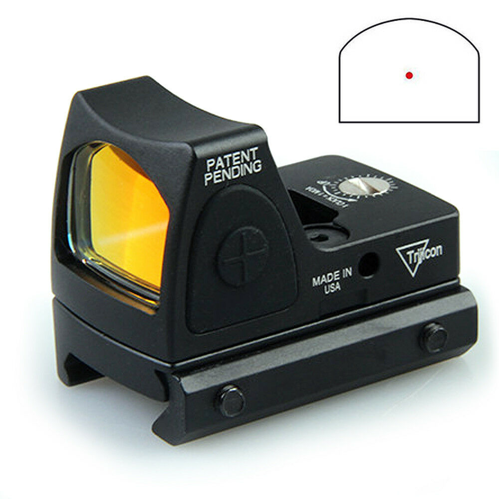 RMR RM07 Adjustable LED 6.5 MOA Holographic Red Dot Sight  Scope 20mm Mount New