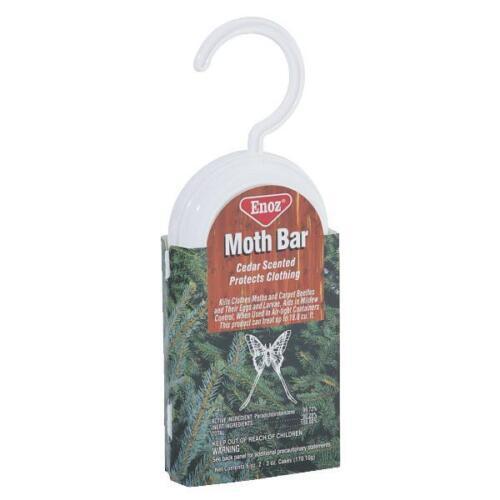 495T 6pk Kills Moths 6oz Hanging Cedar Moth Bar