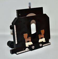 Microscope Parts Genuine Nikon Labophot Specimen Stage Withriser Withclips