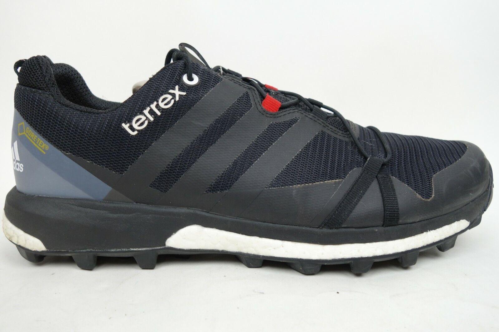 Adidas Terrex Agravic GTX Gore-Tex Boost Trail Running shoes Men Size 12