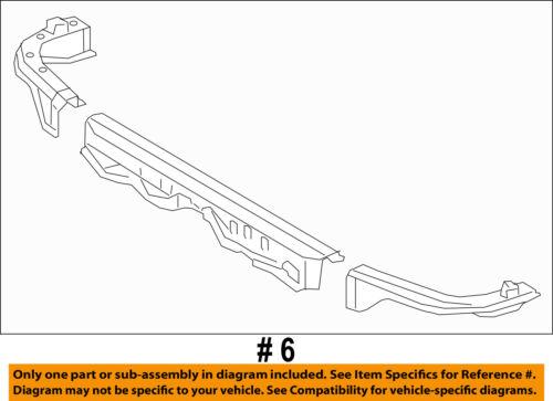 TOYOTA OEM 14-16 Tundra Radiator Core Support-Upper Tie Bar 532050C050