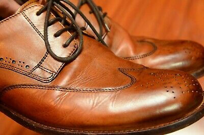 ecco wingtip dress shoes