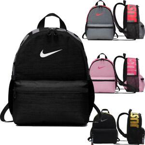 aaaea45833 Image is loading Nike-BRASILIA-KIDS-Junior-Mini-Backpack-Rucksack-Girls-