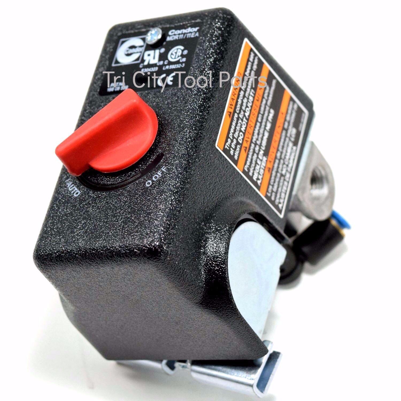 5140119-56 Pressure Switch Porter Cable Air Compressor 155   125 PSI   OEM