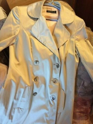 Searle lined double breasted trench coat - size 6