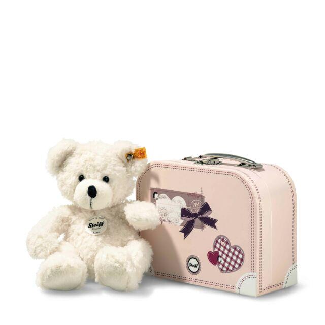Steiff Teddy Steiff 111471 Teddybär Fynn 28 beige mit Koffer günstig kaufen Steiff-Kuscheltiere & -Puppen