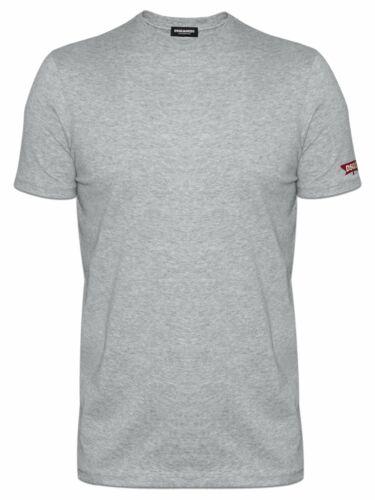 DSQUARED 2 Underwear Gris chiné Maple Leaf t-shirt