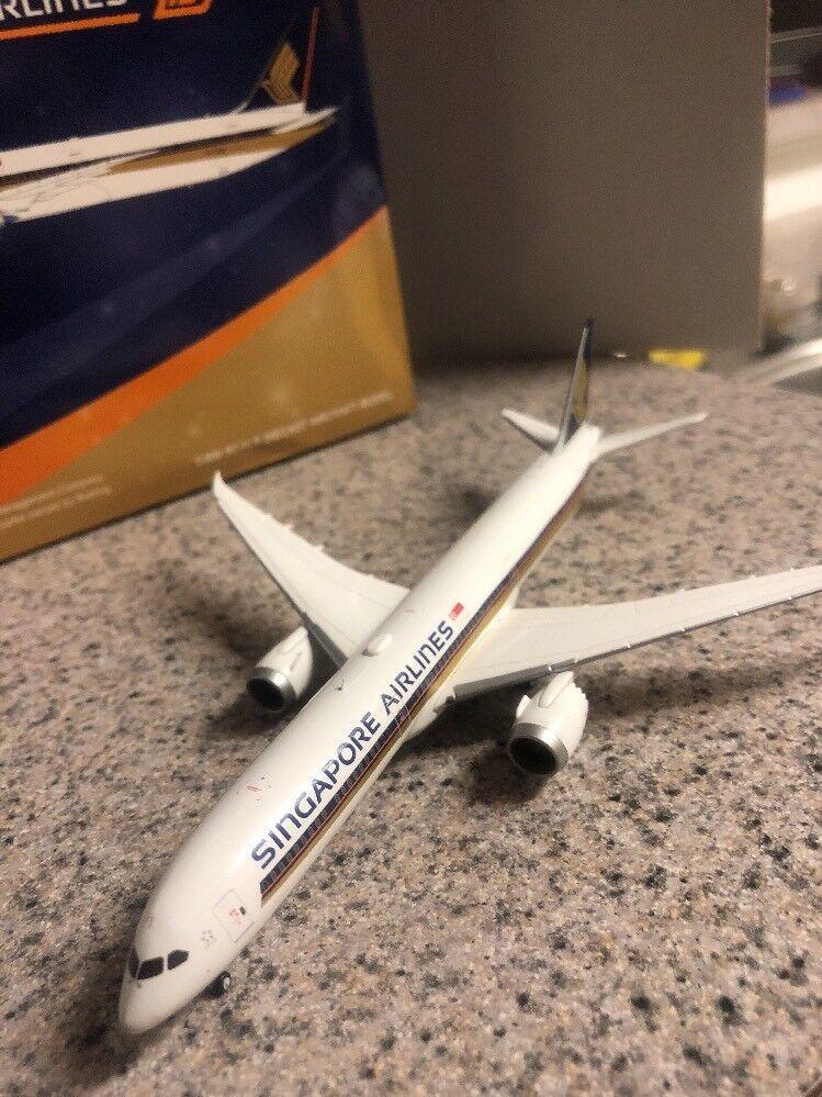 Jc Ailes 1 400 Scale Diecast modèle Singapour B 787-10 avion commercial 9V-SCB
