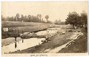 England-Sidmouth-River-Sid-Frith-039-s-Series-Vintage-albumen-print-Tirag