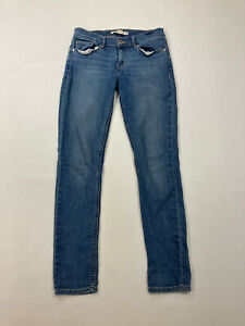 LEVI-S-524-SKINNY-FIT-Jeans-W28-L32-Blue-Great-Condition-Women-s