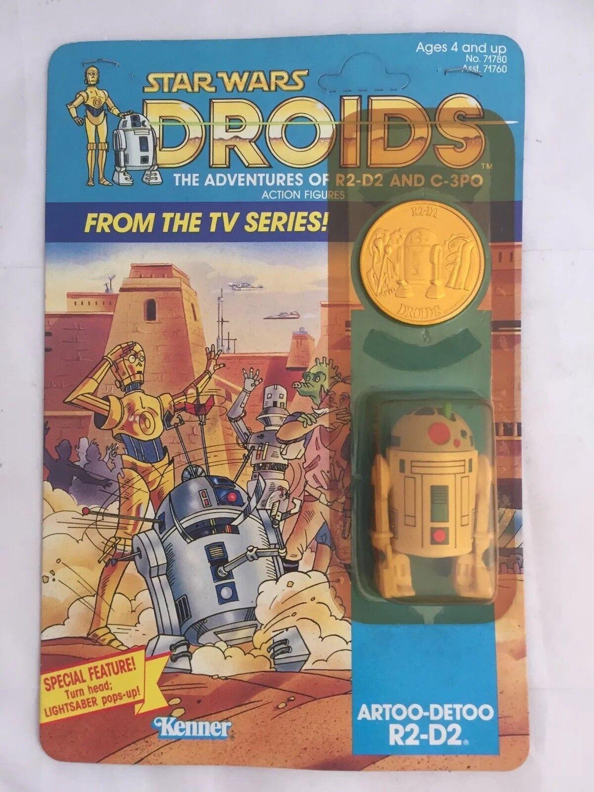 VINTAGE Star Wars Droidi R2D2 Pop Up Toy Action Figure MOC noi KENNER USA 1985