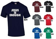 d336bb1a item 8 JESUS IS ENOUGH T-Shirt - Christian Christ Tee Religion Church  Prayer -JESUS IS ENOUGH T-Shirt - Christian Christ Tee Religion Church  Prayer